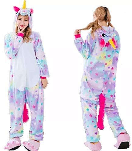 Pijama Kigurumi Cosplay (Infantil (P) Altura de 1,05m à 1,14m, Estrelinha)