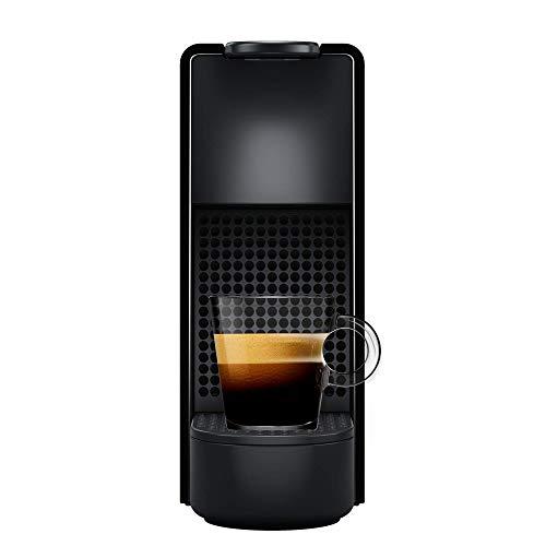 Nespresso Essenza Mini Cafeteira 110V, máquina de café Espresso compacta para casa, máquina de cápsula / cápsula elétrica automática (preta)