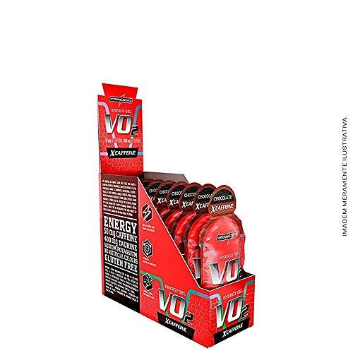 Vo2 Gel X-Caffeine Guarana Acai 10 Unid, Integralmédica