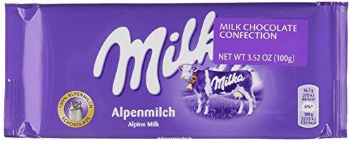 Barra Chocolate Milka - Alpine Milk (100g) Milka