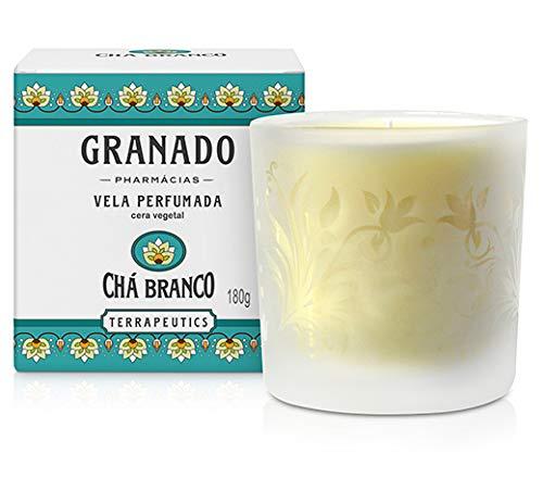 Vela Perfumada Granado 180gr Cha Branco