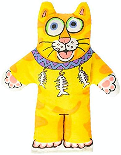 Brinquedo Fatcat Kitten Little Laranja para Gatos Fatcat para Gatos, Laranja