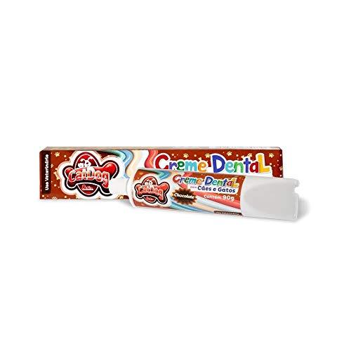 Creme Dental, 90 Gramas Chocolate Tudo Pet para Cães