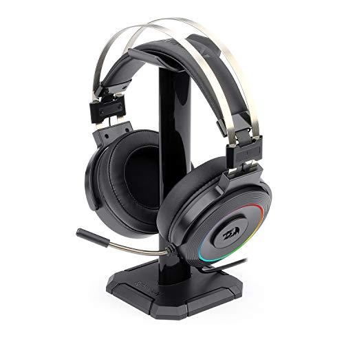 Fone Headset Gamer Redragon Lamia H320 Rgb Com Suporte Headset