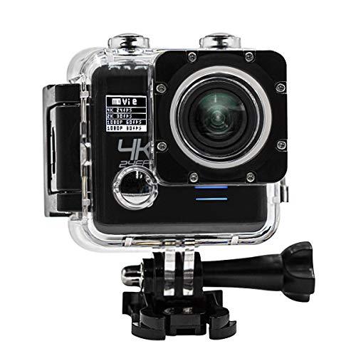 Action Câmera 4k Ultra Hd 3840x2160 Wi-fi A Prova D'agua 30m
