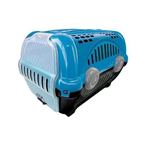 Caixa de Trans para Luxo Furacão Pet N.2, Azul Furacão Pet para Cães