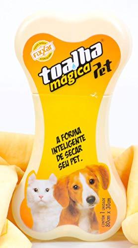 Toalha Mágica PET Amarela TP8433