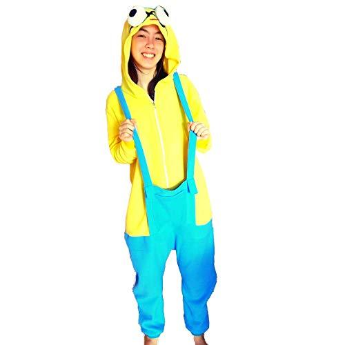 Pijama Minion Malvado Favorito Kigurumi Unissex Tamanho: G 1,67-1,78