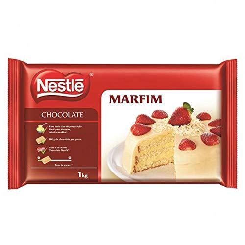 Barra de Chocolate Branco Marfim 1kg - Nestlé