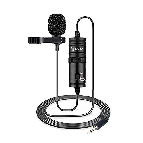 Microfone Para Smartphones E Câmeras Dslr - Boya BY-M1
