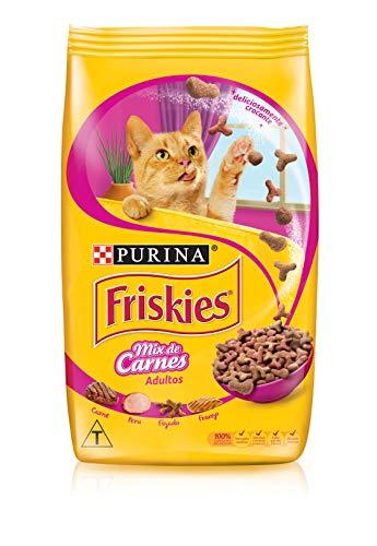 Nestlé Purina Friskies Ração Seca Para Gatos Adultos Mix De Carnes 3Kg
