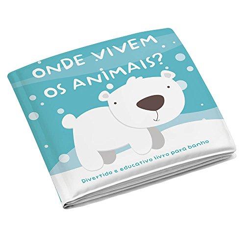 Livrinho de Banho Animais, Multikids Baby, Multicor