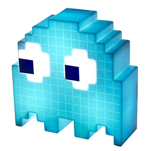 Action Figure Acessório Luminaria Pacman Ghost Muda Cor Paladone