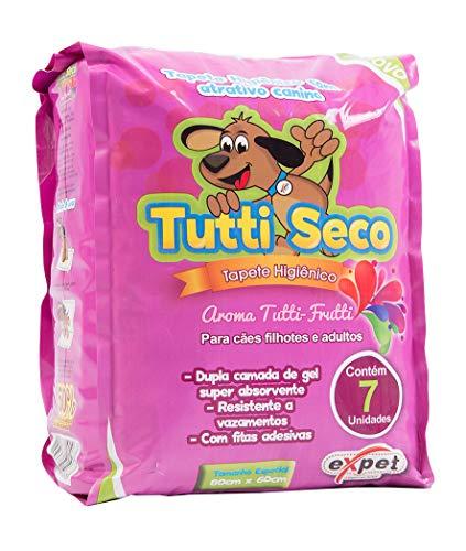 Tapete Higiênico Tutti, Seco 07 Unidades Tutti-Seco para Cães, 07 Unidades