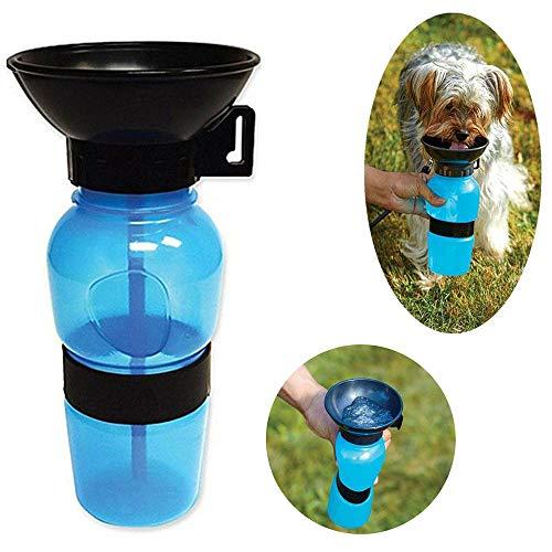 Bebedouro Garrafa Para Cães e Gatos Portatil Viagem Aqua Dog