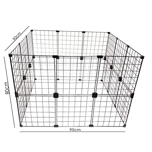Cercadinho Para Pets, Porquinhos da índia e Roedores - 0,90 x 0,80 x 0,90
