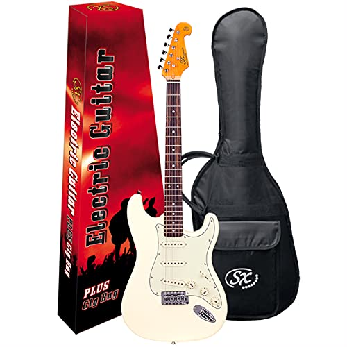 Guitarra Shelter SX Vintage Sst57 Vwh Branco