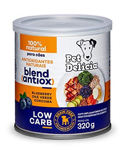 Pet Delícia Low Carb Antioxidante Natural 320g Pet Delícia Raça Adulto, Sabor Frango 320g