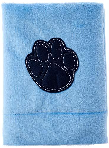 Edredom Plush Azul Pet para Cães e Gatos SS Pets para Cães