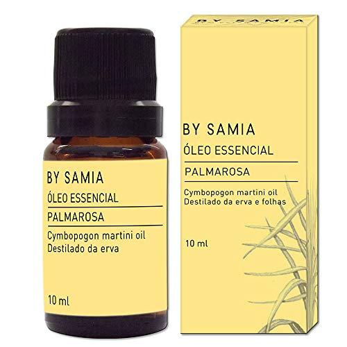 Óleo Essencial de Palmarosa 10 ml, By Samia, Multicor