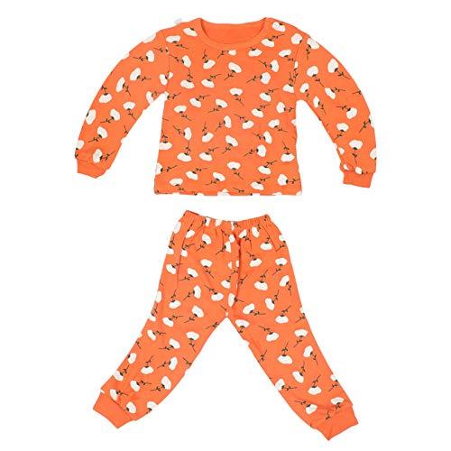 KESYOO Desenho Animado Conjunto de Pijama Infantil Algodão Infantil Pijama Quente Pijama de Inverno para Meninos Meninas 52X32x0. 2Cm