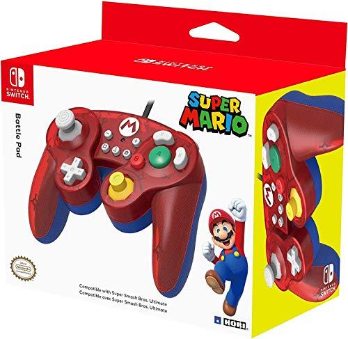 Nc Games 873124007152 Hori Super Smash Bros Gamepad - Mario/switch - Nintendo_switch