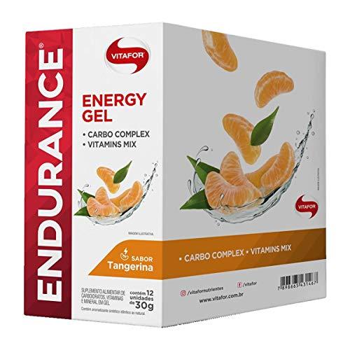 Endurance Energy Gel 12 Sachês de 30G Tangerina, Vitafor