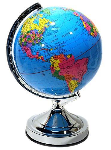 Globo Terrestre Mapa Mundi Azul Dky05
