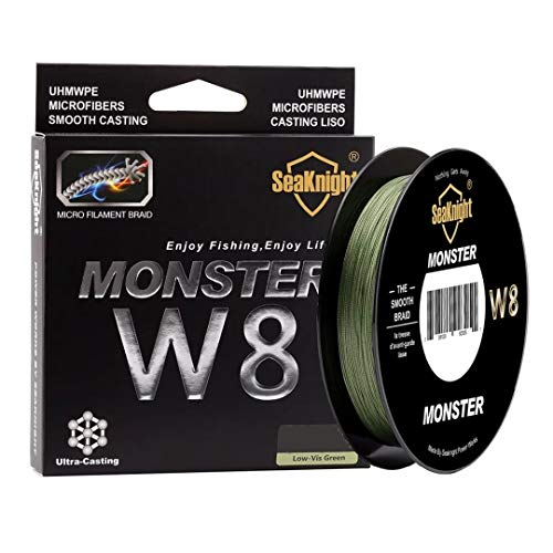 Linha Multifilamento Monster W8 8 Fios 300m 0.50mm 100lb 45k