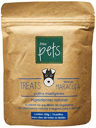 Suplemento Fórmula Maracujá Treats Palitos Mastigáveis para Cães Botica Pets Sabor Frango