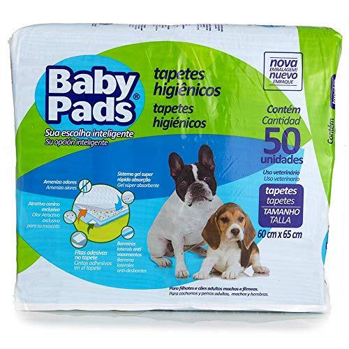 Tapete Higiênico Baby Pads para Cães - 50 unidades
