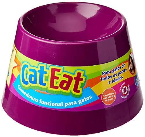 Pet Games Comedouro Funcional Gatos, Roxo