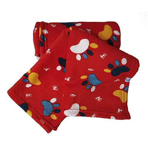 Cobertor Pickorruchos para Cães Vermelho - Tamanho P