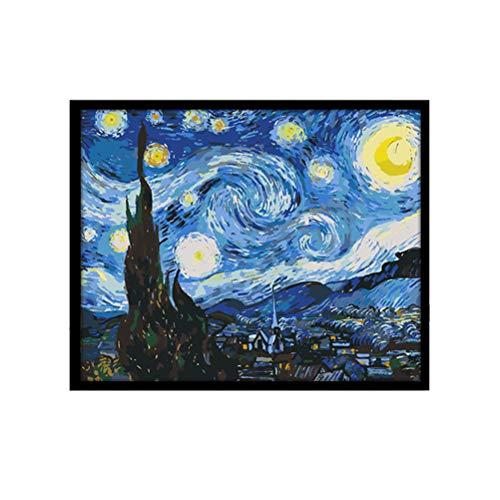 Pintura a óleo faça-você-mesmo, 4050 cm, kit de pintura a óleo por números, arte de parede para casa, pintura a óleo faça-você-mesmo para crianças e adultos
