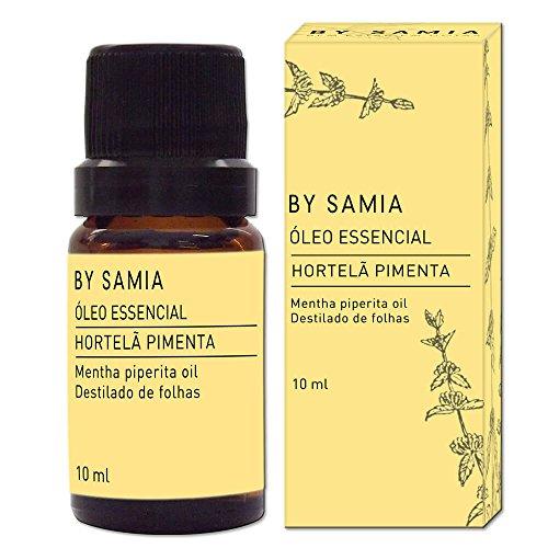Óleo Essencial de Hortelã Pimenta 10 ml, By Samia, Multicor