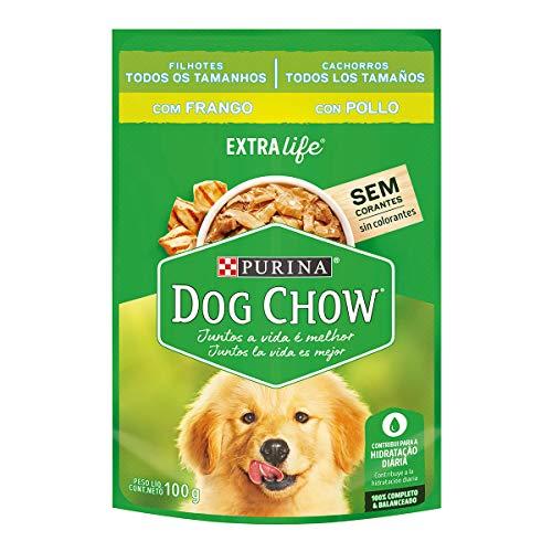 NESTLÉ PURINA Dog Chow Ração Úmida para Cães Filhotes Frango ao Molho 100g