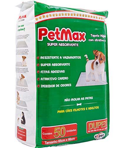 Tapete Higiênico Petmax 50 Unidades Petmax para Cães, 50 Unidades