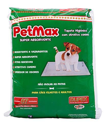 Tapete Higiênico Petmax 07 Unidades Petmax para Cães, 07 Unidades