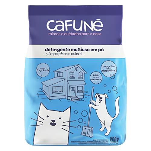 Cafuné detergente em pó sem fragrância 800g