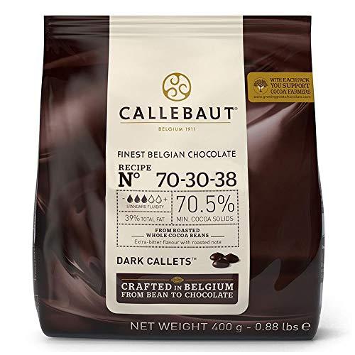 Gotas de Chocolate Meio Amargo 70,5% Cacau 70-30-38 400g - Callebaut