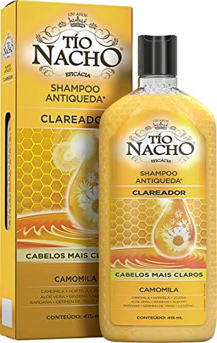 Shampoo Antiqueda Clareador Camomila, Tio Nacho, 415 Ml