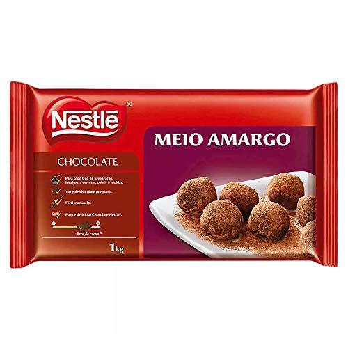 Barra de Chocolate Meio Amargo 1kg - Nestlé