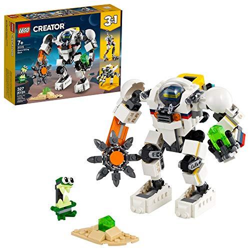 LEGO Creator Robô Mineiro Espacial 3-em-1
