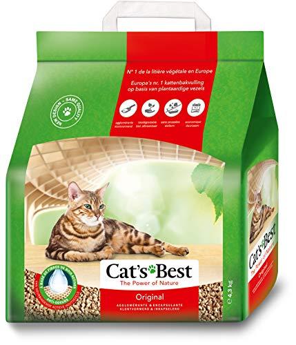 Areia Higiênica Cats Best para Gatos - 4,3Kg