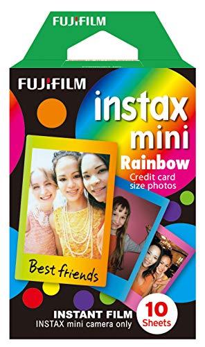 Filme Instax Mini Rainbow com 10 Fotos, Fujifilm