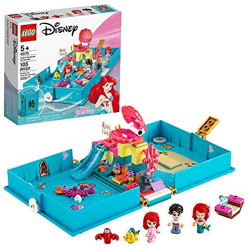 Lego DISNEY PRINCESS Aventuras do Livro de Contos da Ariel 43176
