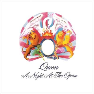 Capa do disco A Night At The Opera.