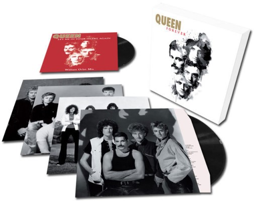 Box de discos de vinil do Queen: Forever.