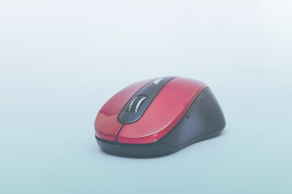 Detalhe De Um Mouse Sem Fio