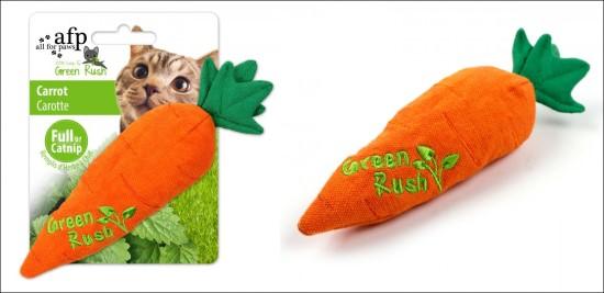 Cenoura com catnip.